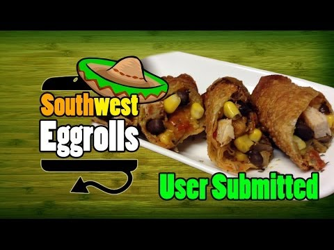 Chili's Southwest Eggrolls With Awesome Sauce Recipe - HellthyJunkFood