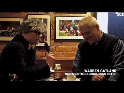 Warren Gatland re Lions, Dirtiest Player, John Kirwan, Breaking Heels