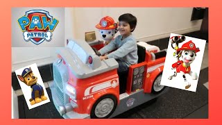 Paw Patrol Ride and Surprise Mall Trip!!!
