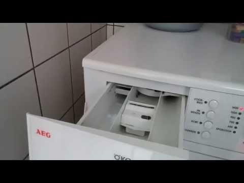 mijn wasmachine stinkt