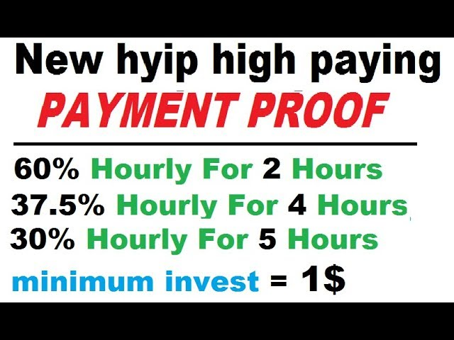 Highest paying hyip sites down