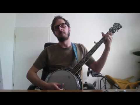 The Pogues - Dirty old town  banjo