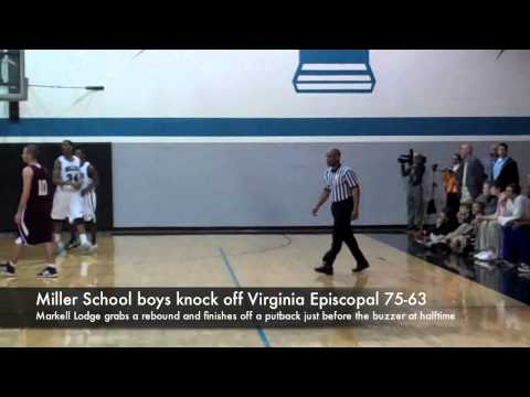 Miller School boys knock off Virginia Episcopal