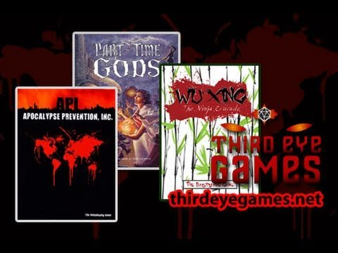 Game Geeks #179 API Apocalypse Prevention Inc.. Wu Xing the Ninja Crusade. and Part-Time Gods