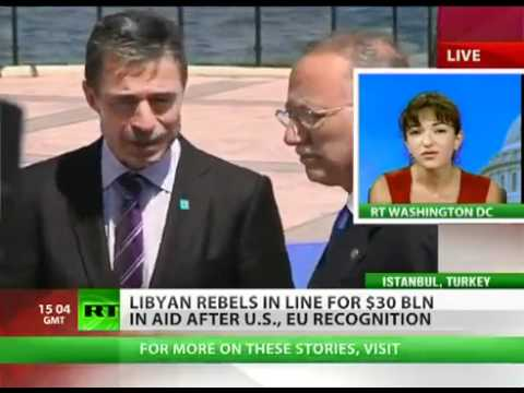 Daylight Robbing of Libyan Money by NATO and Arab Countries from Istanbul (July 15, 2011)
