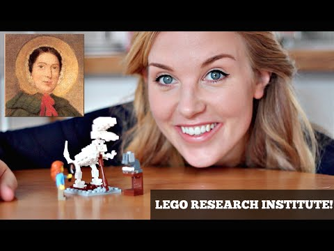 Lego Research Institute! (The Palaeontologist) - Mary Anning