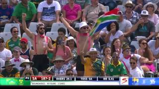 South Africa vs Sri Lanka - 4th ODI - Faf du Plessis Innings Highlights