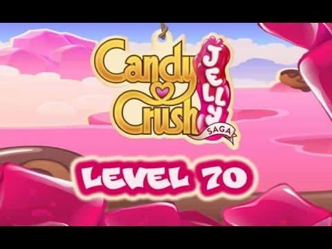 Candy Crush Jelly Saga Level 70 - Cupcake Carl