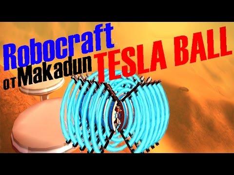 Robocraft drone (TESLA BALL) by Makadun
