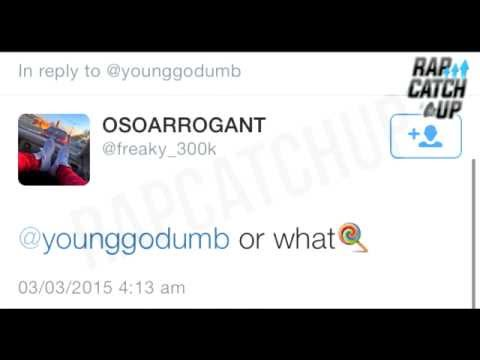 FREAKY (BRICK$QUAD) VS LIL JAY, YOUNG & FBG BUTTA: TWITTER BEEF
