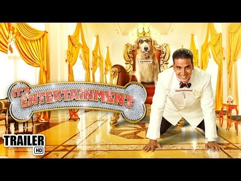 It's Entertainment - Akshay Kumar, Tamannaah Bhatia I Official Hindi Film Trailer 2014 video