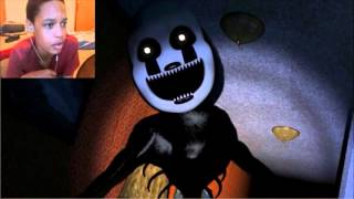 FNAF 4 Nightmarionne Voice REACTION | NOT SCARED YET?