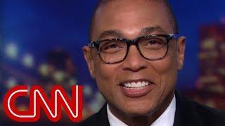 Don Lemon laughs off Trump's Ivanka comment