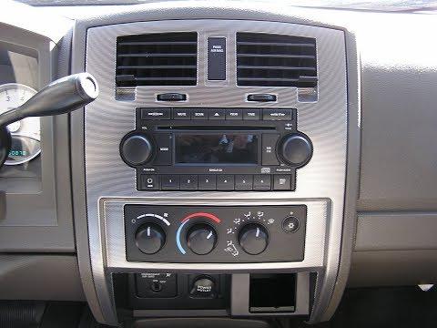 Dodge Dakota Stereo Removal 2005-2007
