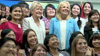 Guest Teaching with Dr. Jill Biden
