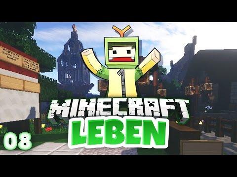 Minecraft LEBEN #08 - Stadtrundgang & der PC ist fertig! | unge