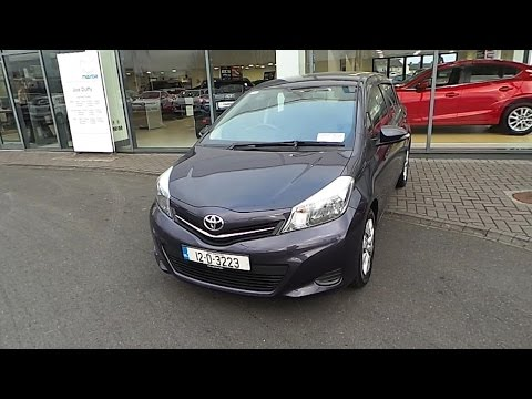 12D3223 - 2012 Toyota Yaris Luna 1.0 5Dr Just In 12.795