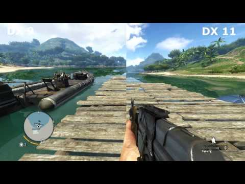 Far Cry 3 DirectX 9 vs DirectX 11 farcry3_d3d11.exe