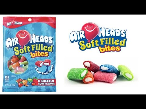 Airheads Soft Filled Bites Review!