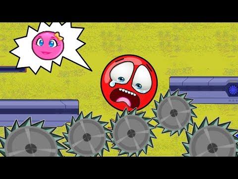 Красный Шарик И ПИЛЫ - Red Ball только для детей! Серия 7