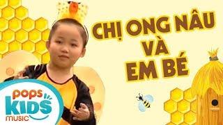 Chị Ong Nâu Và Em Bé - Bé Nhật Lan Vy   Nhạc Thiếu Nhi Hay Cho Bé