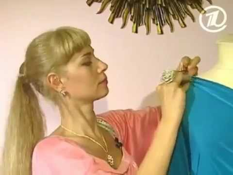 Как сшить платье одним швом. Ольга Никишичева