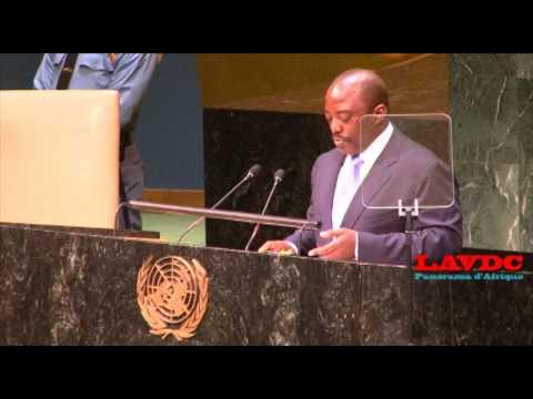 Discours de Joseph Kabila Kabange a l'ONU le 25 Septembre 2014 sur LAVDC