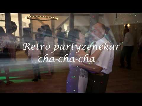 Retro partyzenekar  esküvői zenekar cha cha cha