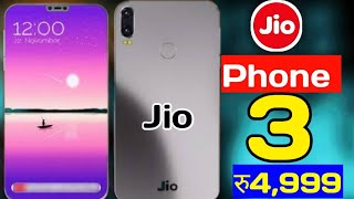 Jio Phone 3 - First Look, Price, Specifications, Launch Date In India | Jio Phone 3 Kab Launch Hoga