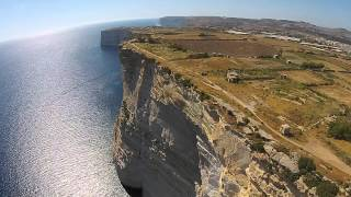 Ta Cenc Cliffs Gozo HD Drone 2015