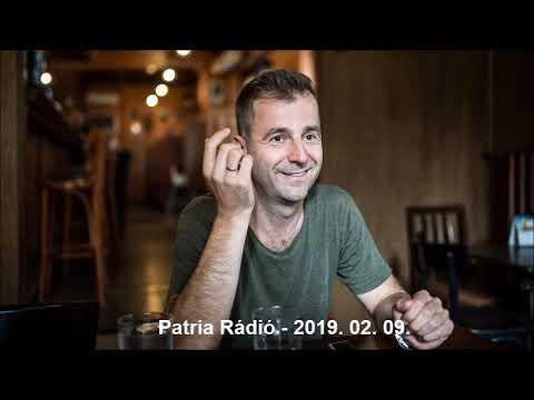 Szombat délután Alindával - Grecsó Krisztián│Patria Rádio│