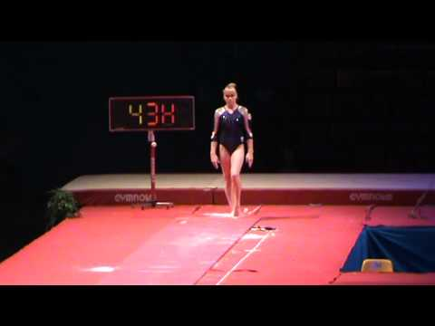 Tatiana Nabieva wins vault at Massilia 2011 (vt 2)