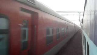 High Speed Action on Indian Railways_ Rajdhani and Shatabdi Expresses at Speed