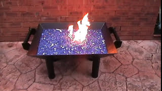 CAMPING - HOMEMADE FIRE PIT