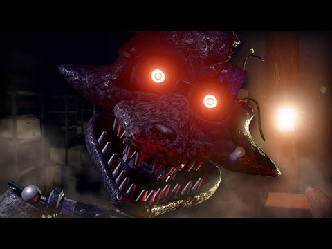 Foxy's Fast, Agressive.. And Defeated!!! || The Joy Of Creation: Reborn (FOXY UPDATE)
