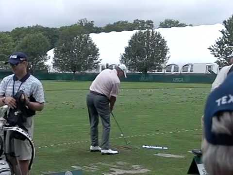 Steve Stricker US Open Bethpage range Video