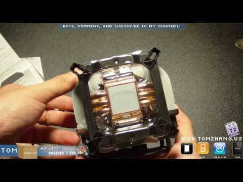 ARCTIC COOLING Freezer 7 Pro Rev.2 Unboxing 92mm Fluid Dynamic CPU Cooler HD
