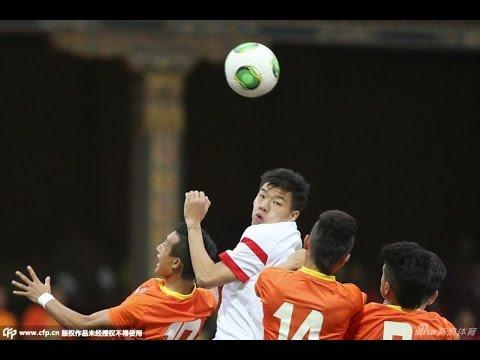 HIGHLIGHTS 世預賽 不丹 0:6 中國 Bhutan འབྲུག་ཡུལ་ 0:6 China 國足45分鍾不進球吓壞全國人民