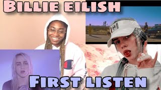 BILLIE EILISH [REACTION] ALL HER MUSIC VIDEOS (FIRST TIME LISTENING!! MUST WATCH!!!)