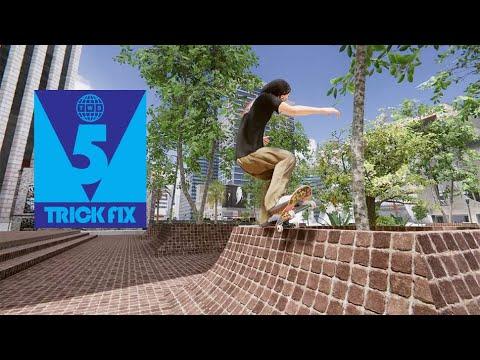 5 Trick Fix: Skater XL | Game Footage of Evan Smith, Tiago Lemos, Brandon Westgate, Tom Asta