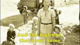 Watch Woody Guthrie Dust Bowl Refugee video