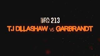 UFC 213 Cody Garbrandt vs T.J. Dillashaw promo