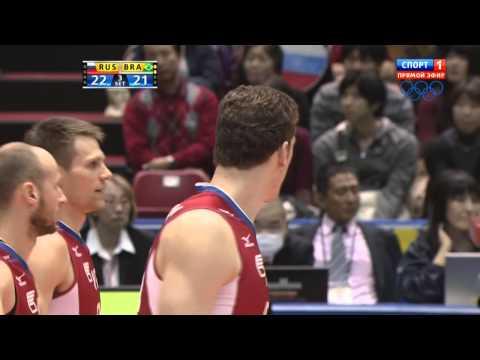 Волейбол  Мужчины  Большой Чемпионский Кубок  Россия Бразилия  23 11 2013
