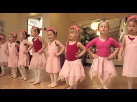 Kate Buckley School Of Dance Ballet younger ballet students
