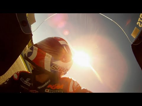 Training for the Red Bull MotoGP Rookies Cup 2013