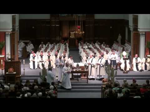 Chrism mass Blessing of the Oils.mp4