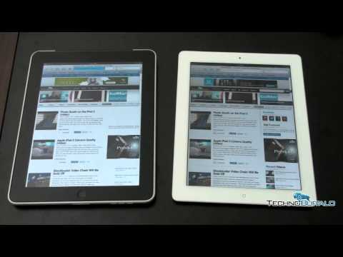 iPad 2 vs. iPad (Original)