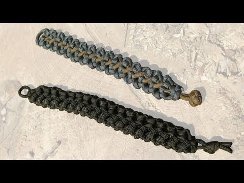 Cool Paracord Bracelet Designs c/o TIAT