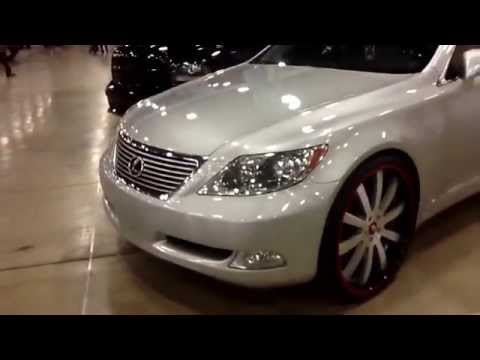 Dub show Miami 2014: Lexus ls460 on 24 forgiato Concavo