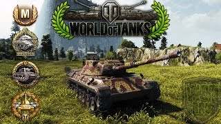 World of Tanks - Leopard 1 - 9 Kills - 10.4k Damage - 1vs6 [Replay|HD]